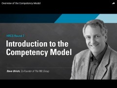 Overview of the Competency Model